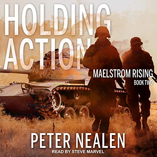 Holding Action audiobook cover art