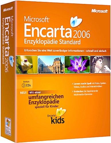 Microsoft Encarta Enzyklopädie 2006 Standard