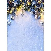 ビニールクリスマステーマ写真の背景子供の肖像画の背景写真スタジオ撮影小道具A229x6ft / 2.7x1.8m
