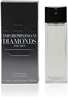 Giorgio Armani Emporio Armani Diamonds Eau de Toilette Spray for Men, 1 Ounce