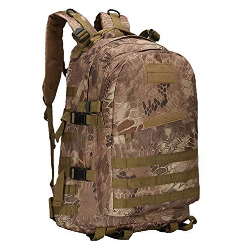 Kaiyei Militär 3 Day Rucksack 40L Camouflage Molle Wasserdicht Dauerhaft Outdoor Reisen Taktische Trekking Assault Wanderrucksack Herren Damen Laptop Tasche Army Backpack...