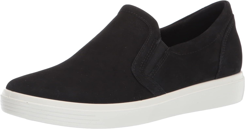 ECCO Men's Soft Classic Slip on Sneaker