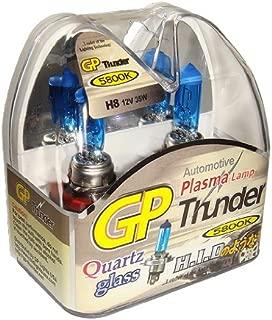 GP Thunder H8 35W Super White with Quartz Glass Bulbs for High- Low Beam- Head Lamp - Fog Light - Day Time Running - Angel Eyes SGP58K-H8