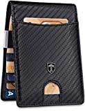 "TRAVANDO ® Slim Wallet with Money Clip""Rio"" RFID Blocking Wallet - Credit Card"