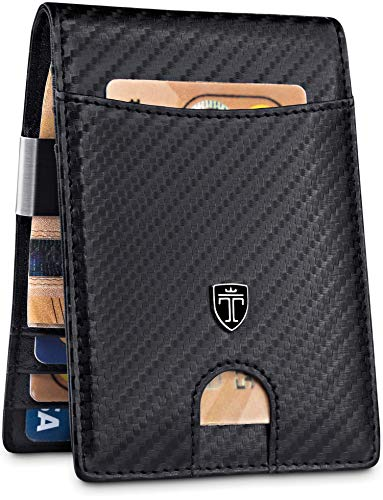 TRAVANDO Money Clip Wallet'RIO' - Mens...