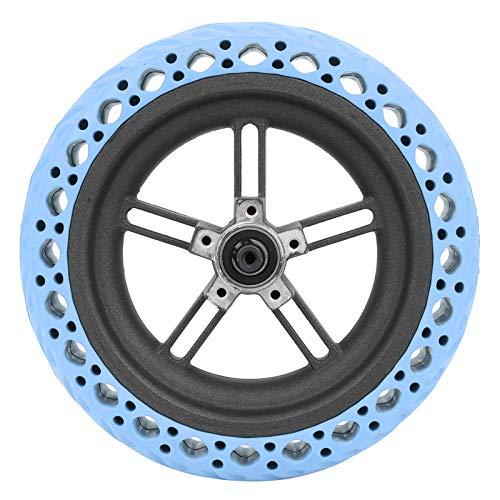 DAUERHAFT Antiexplosión Buena flexibilidad Neumático de Goma Fuerte Ruedas traseras de Scooter, para Bicicletas eléctricas, automóviles y Scooters(Blue)