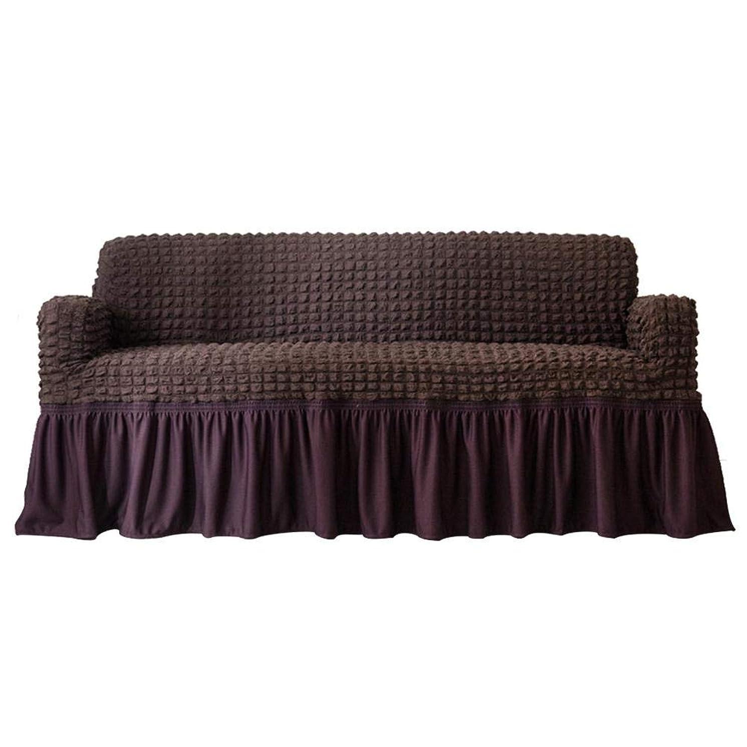 舌な真似るテーブルソファ用防水弾性防塵スリップカバーソファカバー家具プロテクタークッション(#2)
