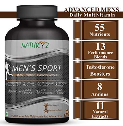 Naturyz Men's Sport Multivitamin With 55 Vital...