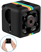 Spy Camera Mini Hidden Nanny Cam, Tiny Surveillance Security Cameras Cop Cam, Action Cams Dash Cam with Motion Detection and Full HD 1080P Video Recorder for Home Office Car Drone Indoor Outdoor
