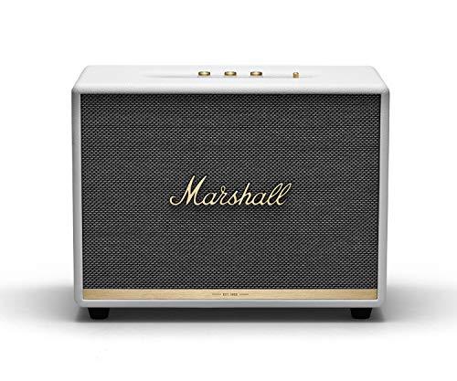 Marshall WOBURNBTIIWH Woburn II Bluetooth Speaker - White