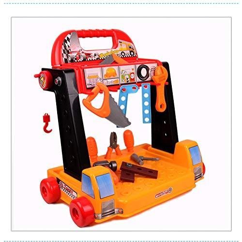 ouyang Over-The-House Junge Werkzeug Trolley Reparatur Schreibtisch Kinder entpacken Schraube...