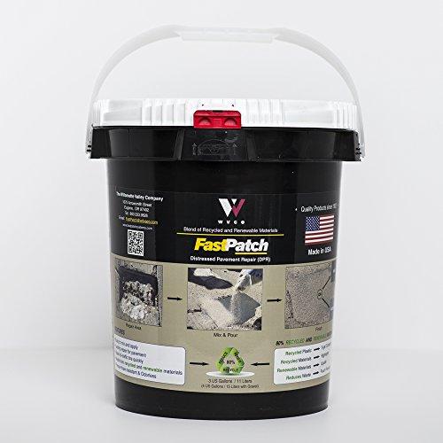 FASTPATCH DPR Rapid Concrete Repair 5-Gal Kit - Polymeric Concrete Patch