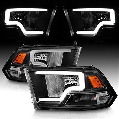 AmeriLite Black Replacement Headlights