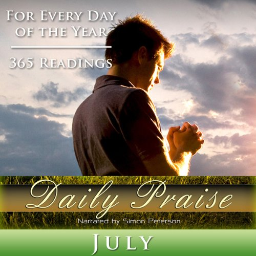 Daily Praise: July audiobook cover art