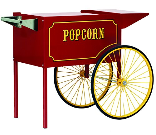 Find Bargain Paragon Large Popcorn Cart for 12 and 16-Ounce Poppers (Red)