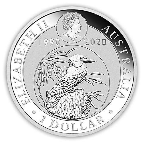Kookaburra 2020 Silbermünze Silber Münze 1 Unze 1 oz in Münzkapsel