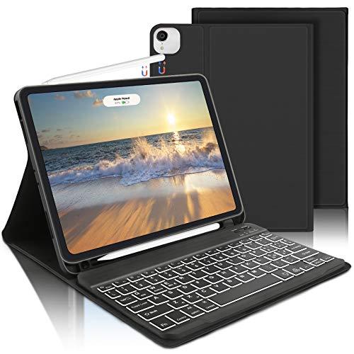AVNICUD Tastatur Hülle für iPad Air 4 10,9 2020, iPad Pro 11