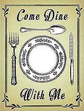 Come Dine With Me large metal sign (og 4030)