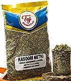 TAJ Premium Indian Kasoori Methi, Dried Fenugreek Leaves), 3.5-Ounce