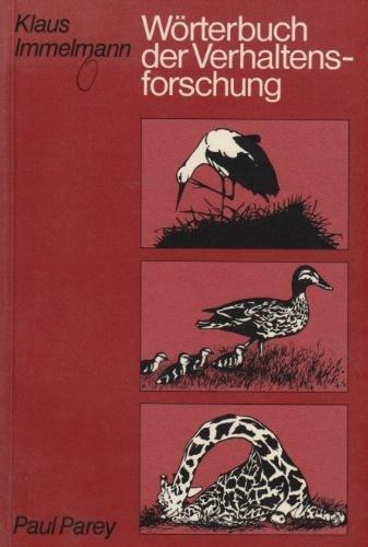 Wörterbuch der Verhaltensforschung