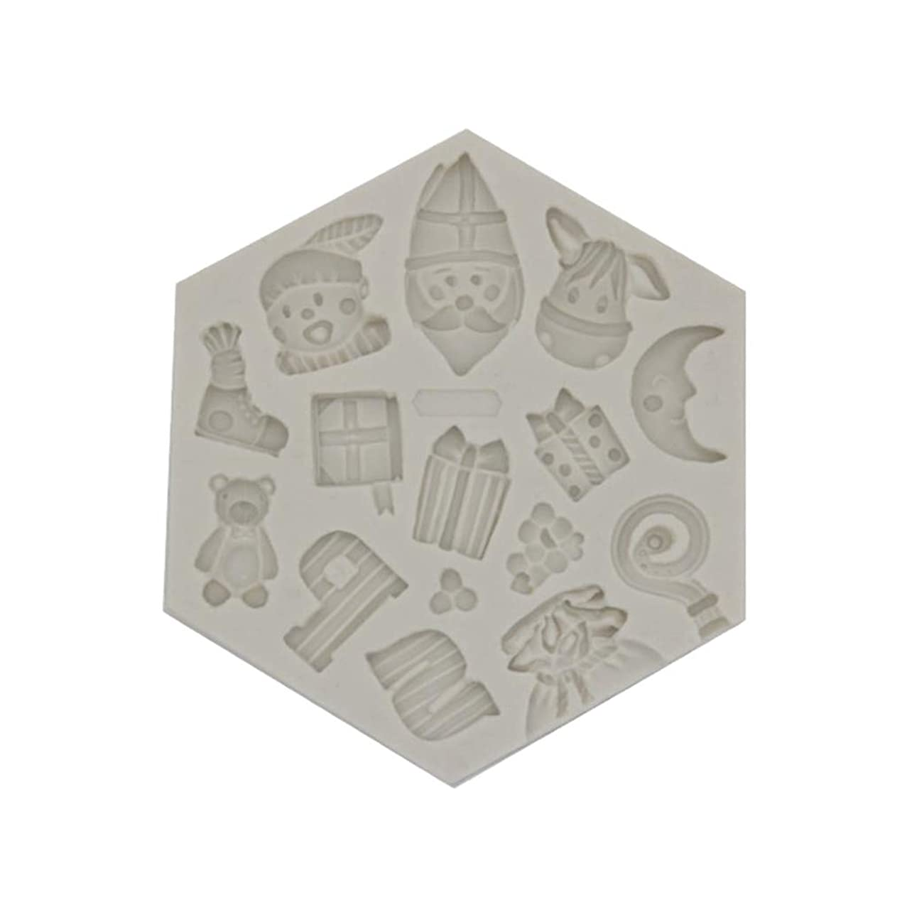 Little Story ?? Chocolate Mold, Silicone Fondant Mold Cake Decorating Chocolate Baking Mould Tool