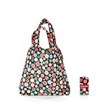 reisenthel mini maxi shopper Bolso bandolera, 60 cm, 15 liters, Multicolor (Happy Flowers)