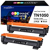 GPC Image TN1050 Cartucce Toner Compatibili per Brother TN-1050 per Brother HL-1110 HL-1210W HL-1112 HL-1212W DCP-1510 DCP-1610W MFC-1810 MFC-1910W DCP-1612W DCP-1512 (2 Nero)