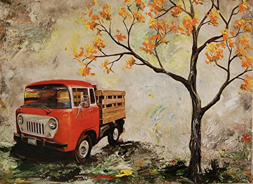 1958 Jeep FC-150 artist signed PHOTO PRINT, fathers day, gift, christmas, present, men, man