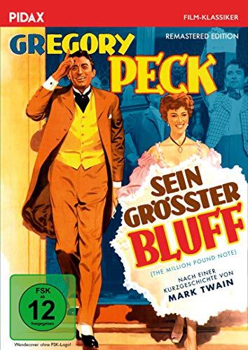 Sein größter Bluff - Remastered Edition (The Million Pound Note) / Kult-Komödie frei nach Mark Twain mit Gregory Peck (Pidax Film-Klassiker)