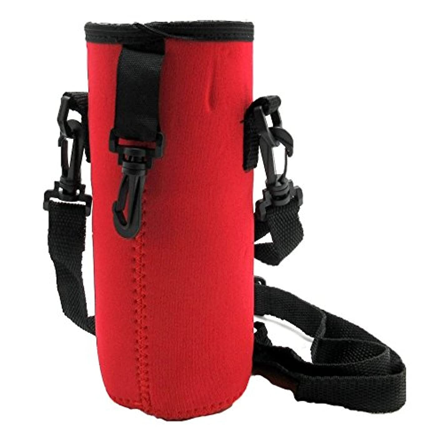 写真を描く準備上昇[パンダファミリー] 水筒カバー ボトルカバー ペットボトル 水筒ホルダー 調節可能 ショルダーストラップ 防水 無地 迷彩 肩掛け紐付き キッズ 子供 ジュニア 大人