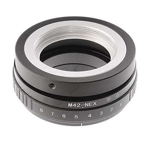 Shuangyu Tilt-Shift 360 ° lente adaptador de lente para objetivo M42 a...