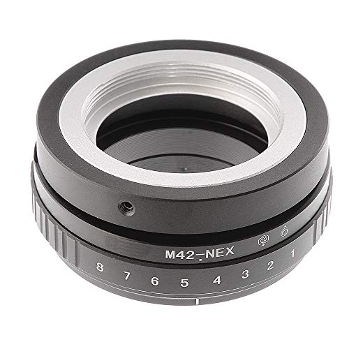 Shuangyu Tilt-Shift 360° lens Draai de lens adapter voor M42 mount lens op Sony E-Mount camera NEX-3 NEX-3N NEX-3N NEX-5 NEX-5 NEX-F3 A6000 A5000 A3000 Alpha A7 A7R DSLR camera