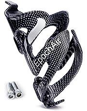 EpochAir 軽量サイクルボトルケージ 自転車用ツールボトルホルダー 自転車 ドリンクホルダー ネジ付け 500ml 750ml ペットボトル対応 カーボン風 2600462