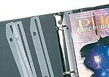 Baumgartens Magazine Organizer 12 Pack WHITE (JT-9000)