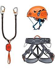 Climbing Technology Kit FERRATA Plus Galaxy, Set Unisex Adulto, Multicolore, Taglia Unica