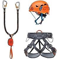Climbing Technology Kit Ferrata Plus Galaxy–Top Shell Slider–Explorer TG.M-L Kit Ferrata, Colores Surtidos, M-L