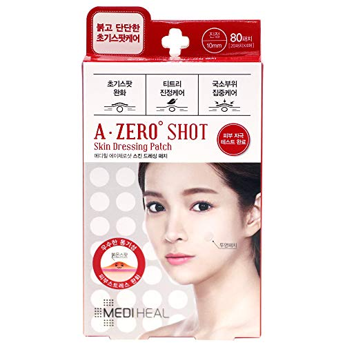 MEDIHEAL(メディヒール) A-zero Shot Skin Dressing Patch Clear Spot Patch