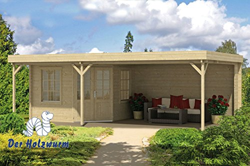 40 mm Gartenhaus Annette ca. 700x400 cm (unbehandelt)