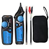 ELEGIANT Cable Tester, Multi-Functional RJ11 RJ45 Line Finder Wire Tracker for Wire Tracking,Network