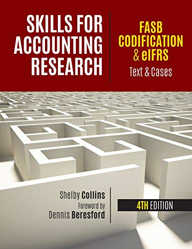 Compare Textbook Prices for SKILLS F/ACCOUNTING RESEARCH  ISBN 9781618533159 by Collins