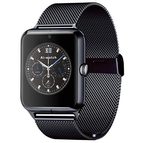 Z50 1,54 Pulgadas IPS teléfono móvil Reloj Inteligente de Pantalla táctil, Tarjeta del SIM y la Tarjeta del TF, Bluetooth, Red 2G, 300.000 píxeles de la cámara, podómetro, recordatorio sedentaria, el
