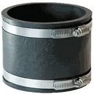 Mission Rubber 1056215 MR56 215 Flex-Seal Coupling, 2-Inch Plastic/Cast-Iron to 1-1/2-Inch Plastic/Cast-Iron