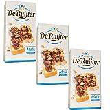 3 X De Ruijter Chocolade-Vlokken-Melk - Milchschokoladen Flocken 300g