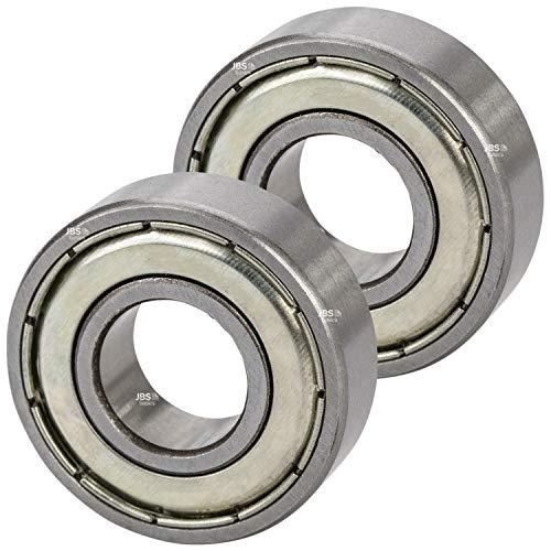 [ JBS basics ] Kugellager 2 Stück [ 629 ► 9 x 26 x 8 mm ZZ ] Metall Industrie Rillen Radial Lager Achse Welle Maschine 3d Drucker (629 ► 9 x 26 x 8 mm, ZZ, 2)