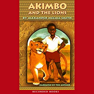 Akimbo and the Lions audiobook cover art