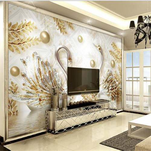 3D Wallpapers for Living Room: Buy 3D Wallpapers for Living ...