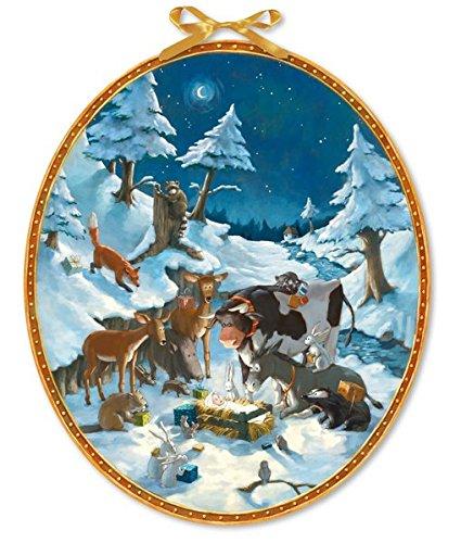 Die Tiere feiern Weihnachten (Adventskalender)