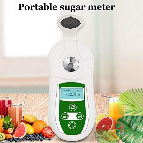 XFY 0-53% digitale Brix refractometer suiker inhoud meter met automatische uitschakelfunctie voor het meten van het suikergehalte in sap en koffie