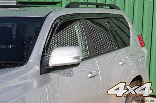 Autoclover Windabweiser-Set f/ür Isuzu D-Max 2012+ 4-teilig