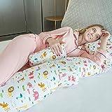 Chunjiao Almohada de Maternidad Almohada para Dormir Sueño en Forma de U...